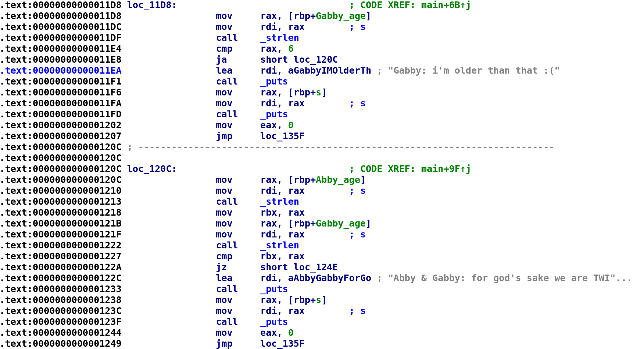 Half-twins binary with updated variable names