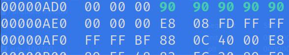 Modified bytes